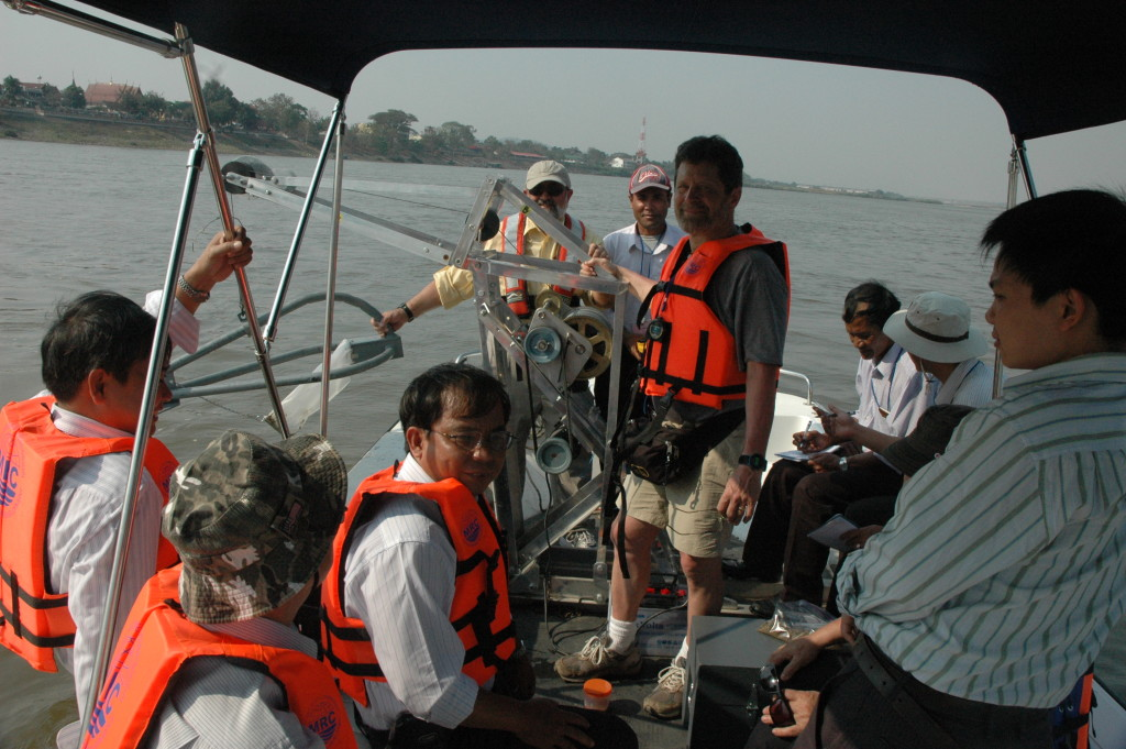 Field Training, Mekong River at Chiang Saen, Thailand